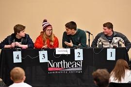 Over 1,500 students take part in 34th Northeast Scholastic Contest and Quiz Bowl
