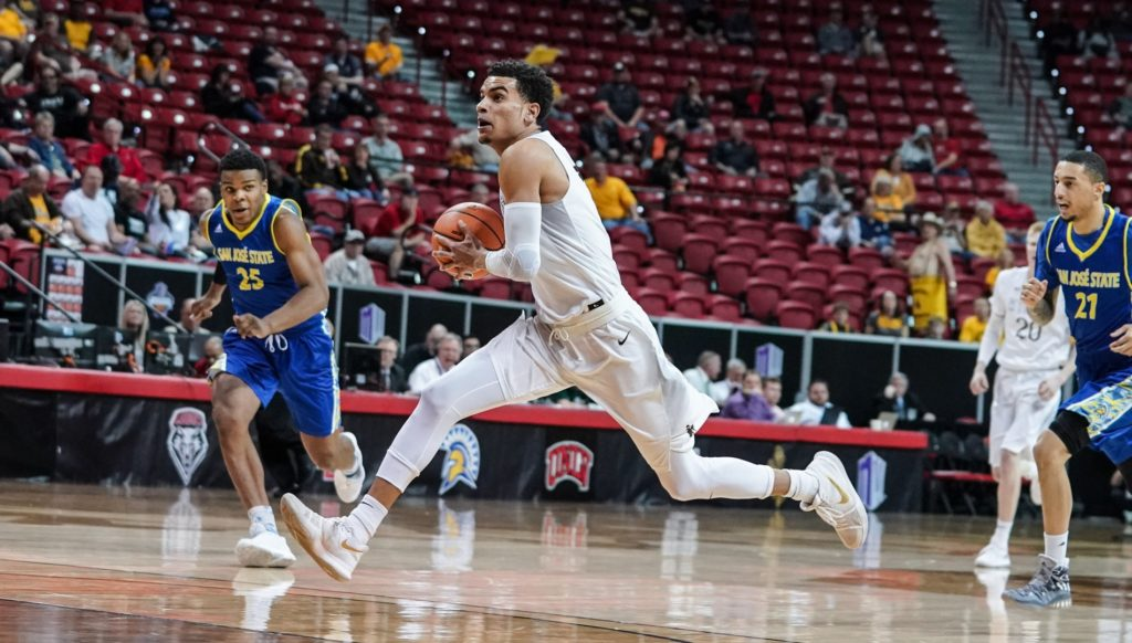 James leads Wyoming to MWC Tournament win over SJSU