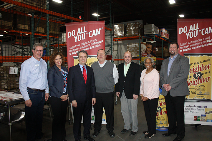 Statewide Food Drive Campaign Kicks Off Kansas Ag Month