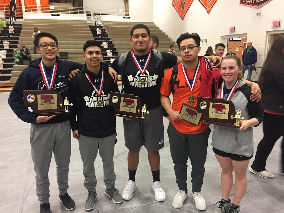 Lexington Wins Powerlifting Title