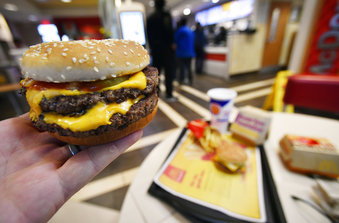 What's fresh at McDonald's? The beef in some burgers