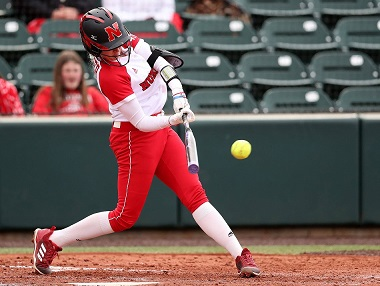 Unzicker's Grand Slam Helps Huskers to Win Over South Dakota