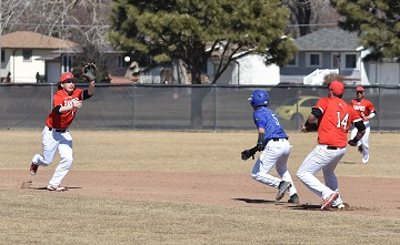 Northeast Baseball wins first ever home game over McCook