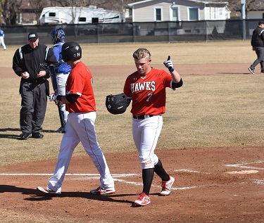 Northeast baseball falls to NIACC in Doubleheader