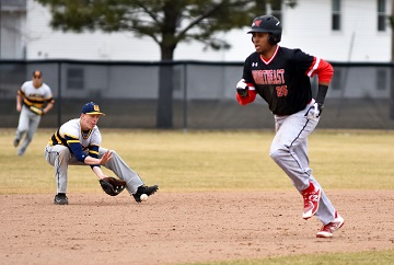Northeast Baseball routs Mount Marty JV