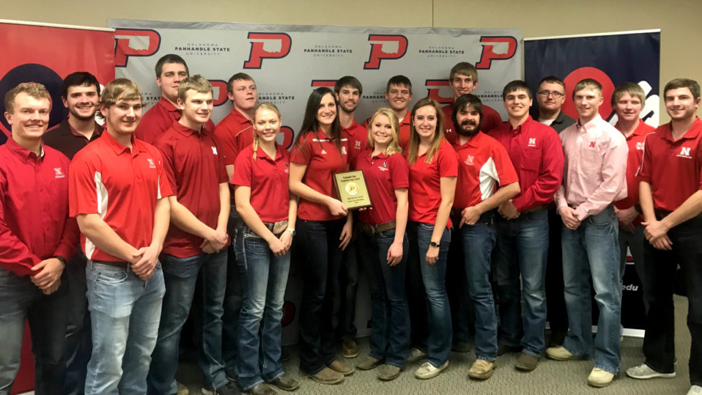 Nebraska Crops Team takes third at Oklahoma Panhandle State University
