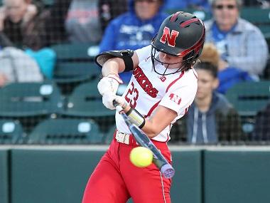 Nebraska Softball Team wins at Northwestern