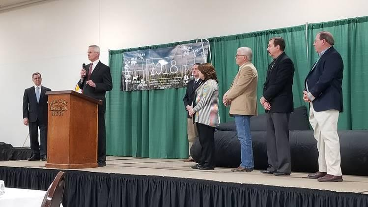 Lt. Gov. Foley Announces Platte County as Newest Nebraska Livestock Friendly County