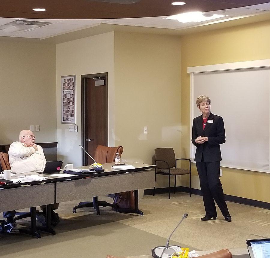 NREA GM visits DPPD Board meeting