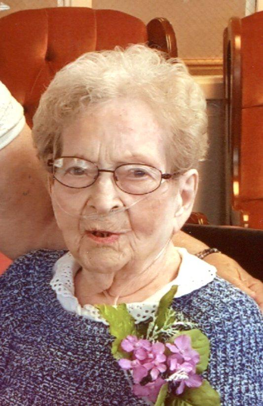 Inez Lorene (Rhoades) Scofield, 100