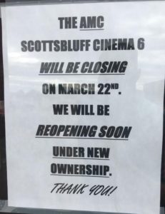 Scottsbluff movie theater transitioning to new ownership