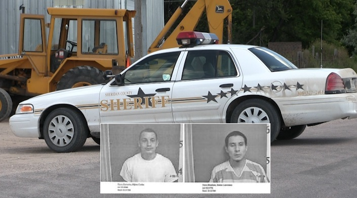 Authorities search for escaped Sheridan County inmates