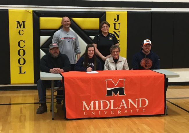 (Audio) Shockey signs with Midland