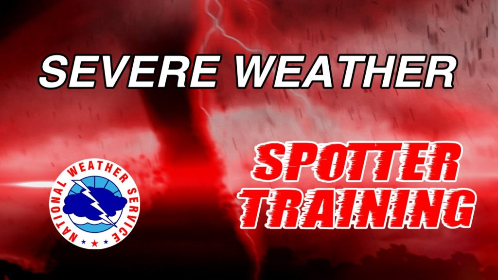 Scottsbluff Severe Weather Spotter Training to be held Tuesday