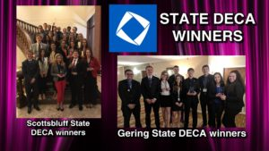 Gering and Scottsbluff High DECA students excel at state competition
