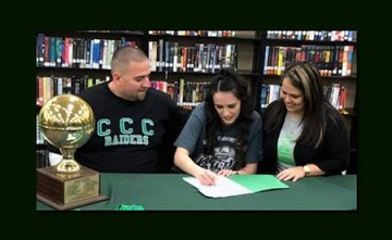 Texas Athlete Signs With CCC