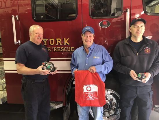 (AUDIO) Special Donation to York Fire & Rescue Could Help Save Pets' Lives