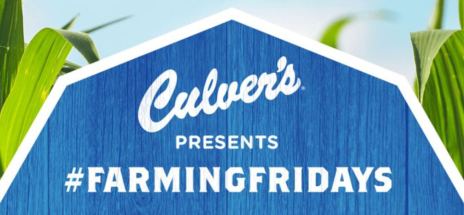 Culver's Launching Third Annual #FarmingFridays Project