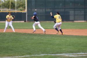 WNCC baseball splits games on Friday