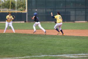 WNCC baseball splits games on Friday