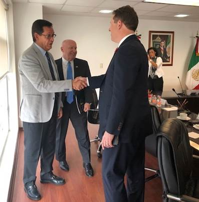Smith Continues NAFTA Advocacy in Mexico City