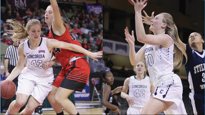 Lammers, Wragge pick up NAIA All-America recognition
