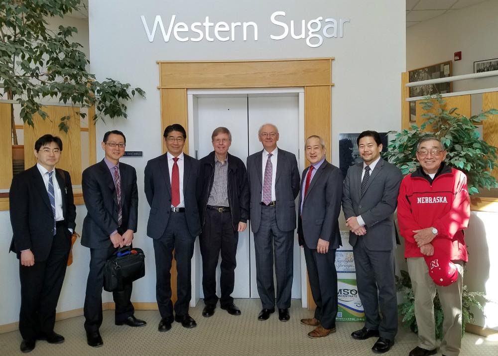 Consul-General Japan visits Nebraska