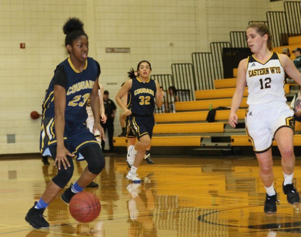 Cougar women down Sheridan to reach regional semifinals