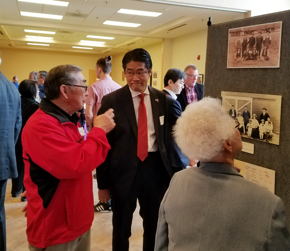 Japan's Consul-General visits the Panhandle