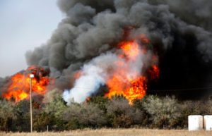 Sheriff: Possible arson investigated in Oklahoma wildfire
