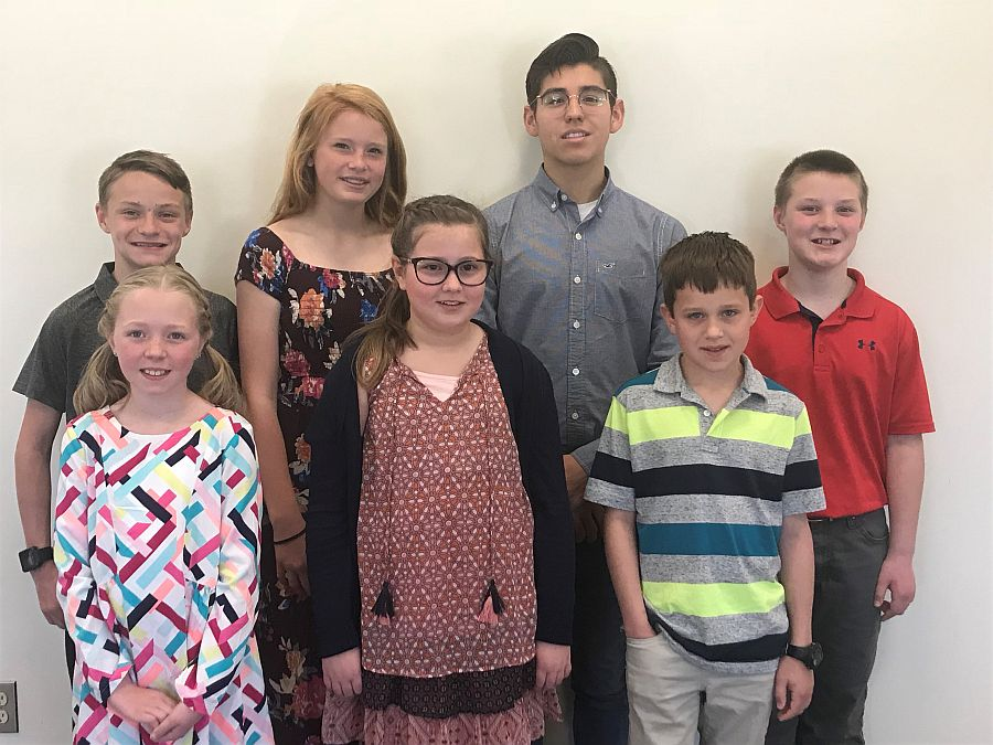 Dawson County 4-H'ers compete in Regional 4-H Speech Contest