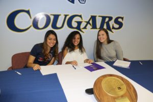 Three WNCC volleyball players headed to the next level