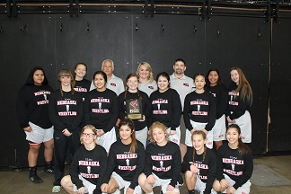 (AUDIO) West Point Female Wrestlers take part in National Tournament in Des Moines