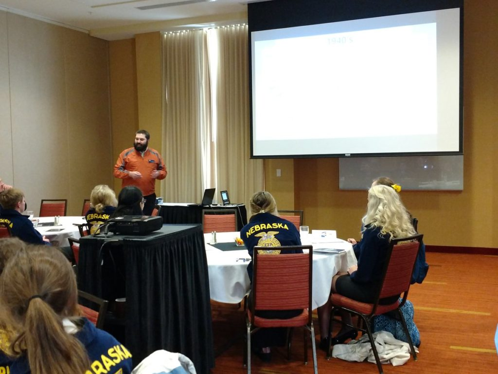 (AUDIO) Agricultural Issues Academy Helps FFA Members Use Their Voice