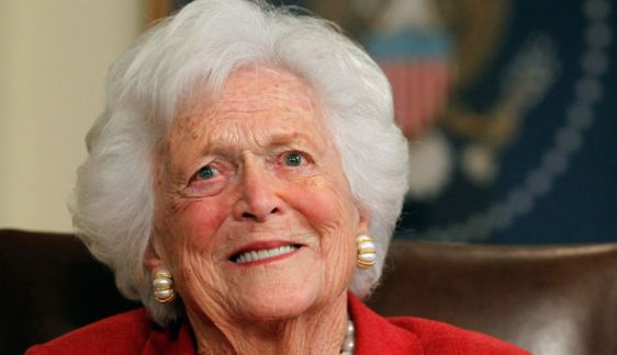 Flags to Fly at Half-Staff to Honor Former First Lady Barbara Bush