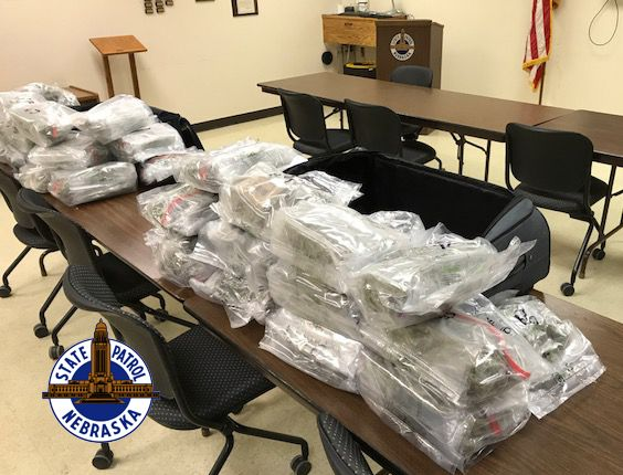 Traffic Stop Yields Seizure of 36 Pounds of Marijuana