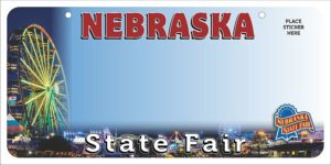 Nebraska State Fair to launch custom license plate