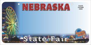 Nebraska State Fair to launch custom license plate