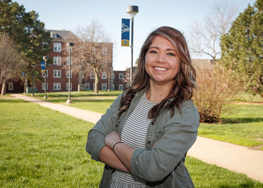 UNK Commencement speaker McKenzie Cuba 'a Loper through and through'