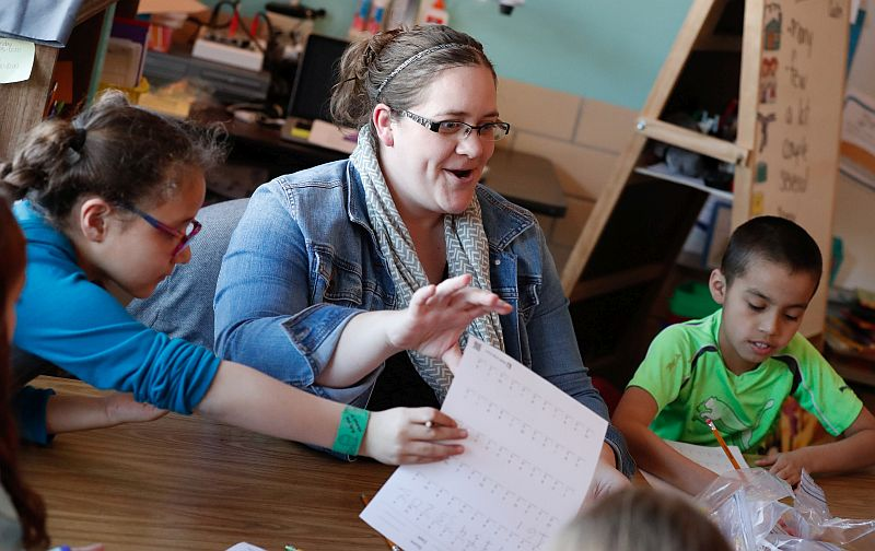 Kearney educator, UNK alumna Fouts added to Academy for Teacher Ed
