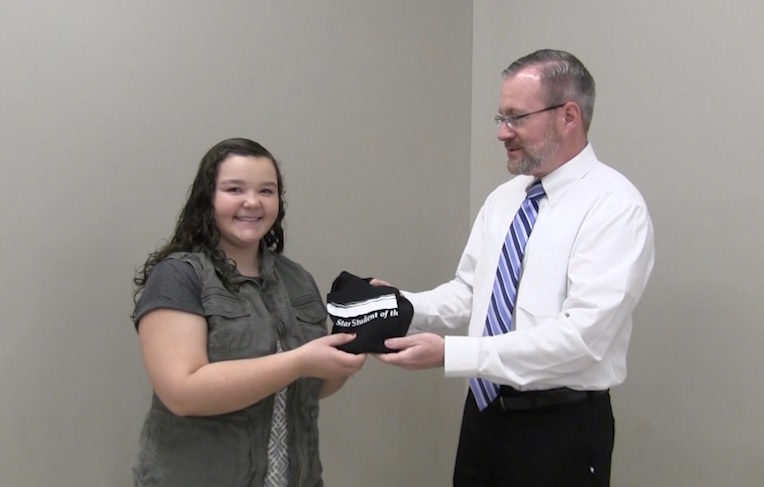 Bluffs Middle School's Emily Franklin named PVC Star Student of the Week