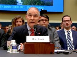 Pruitt on Waivers: RIN Transparency Key