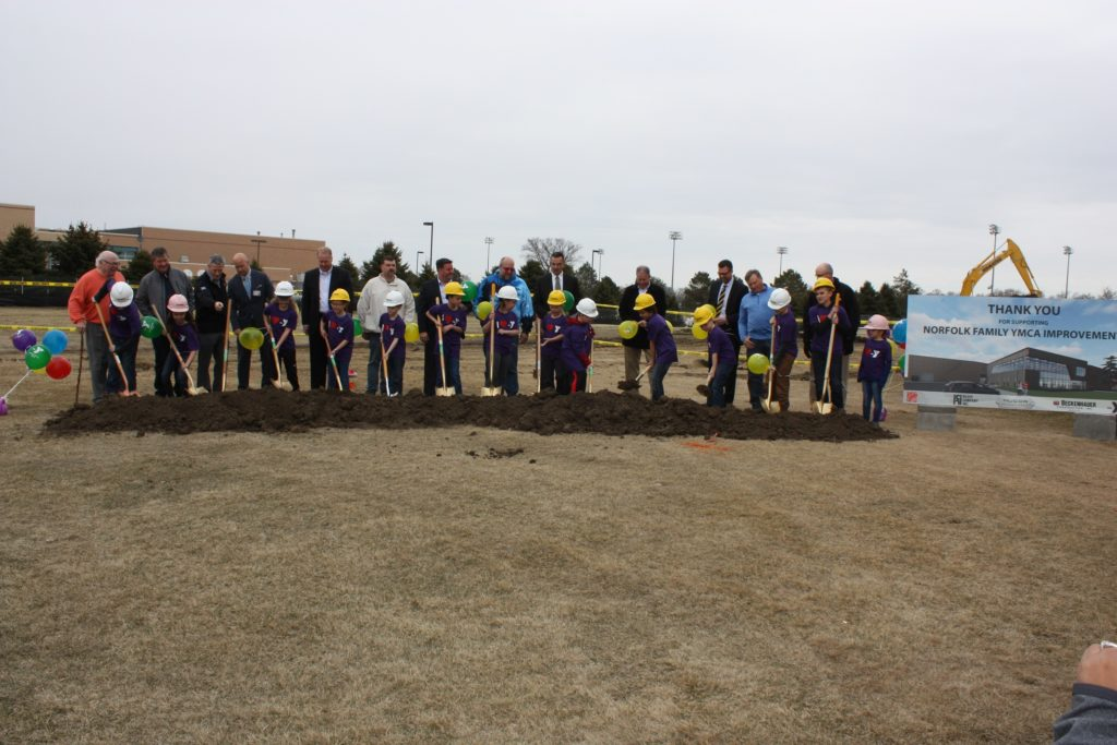 (AUDIO) Norfolk Family YMCA breaks ground on new addition