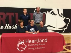 (Audio) Heartland's all-time leading scorer signs with Concordia
