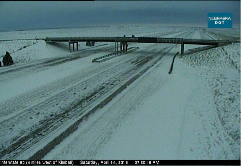 Nebraska highways still closed Saturday morning following spring storm