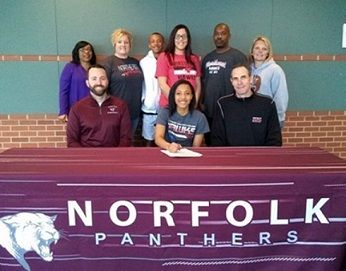 Norfolk's Moore Signs with Northeast to Play Basketball
