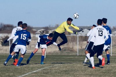 Lexington & Kearney Split in Soccer Action