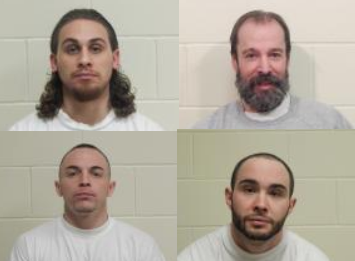 Inmates charged in fire, disturbance at prison intake center