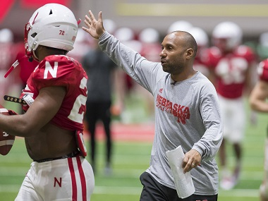 Walters Notices Progress in Husker Offense