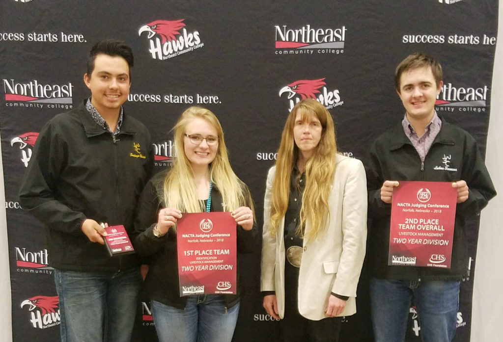 EWC Livestock Judging finishes season at NACTA